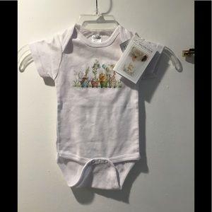 New Bambini Cotton White Onsie